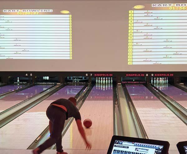 Bowling mit TG-Plan
